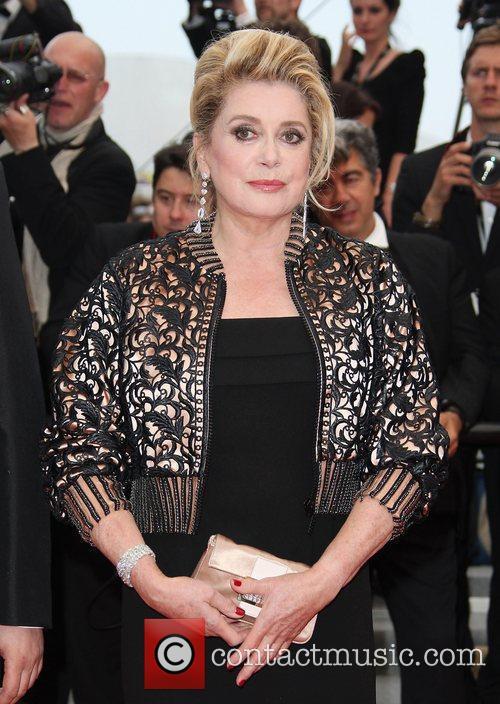 Catherine Deneuve 2011 Cannes International Film Festival -...