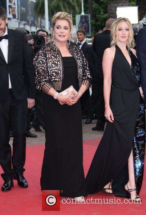 Ludivine Sagnier and Catherine Deneuve 2011 Cannes International...