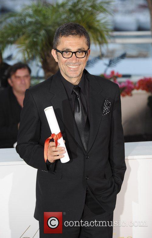 Director Nuri Bilge after winning Grand Prix Ex-aequo...