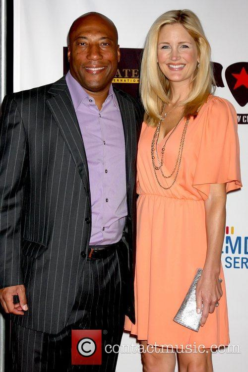 Byron Allen And Jennifer Lucas 1