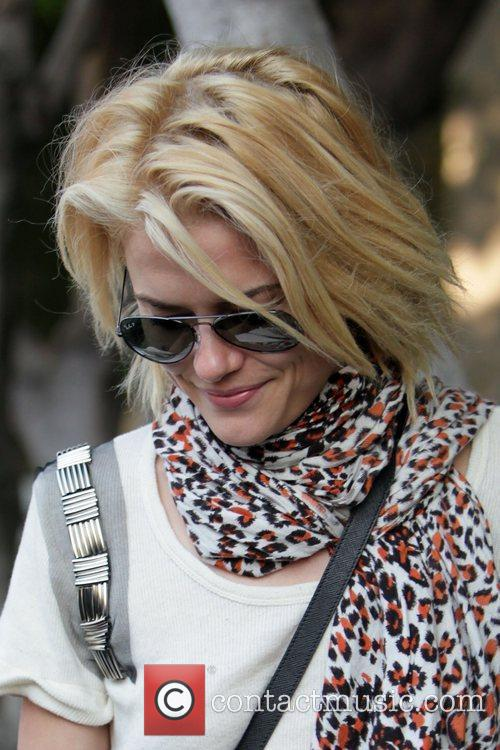 'Charlie's Angels' star Rachael Taylor  outside the...