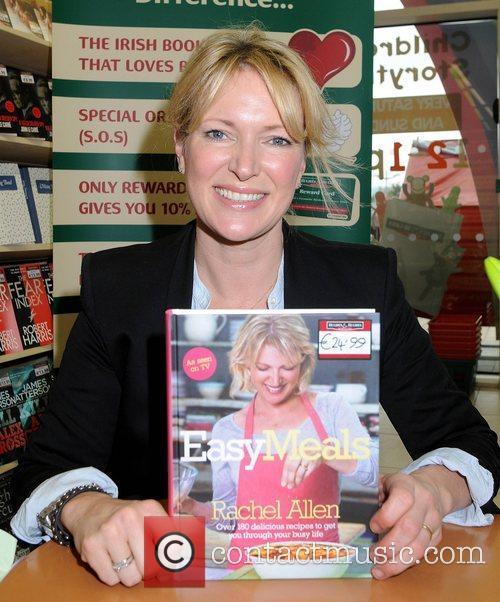 Celebrity chef Rachel Allen  signs copies of...