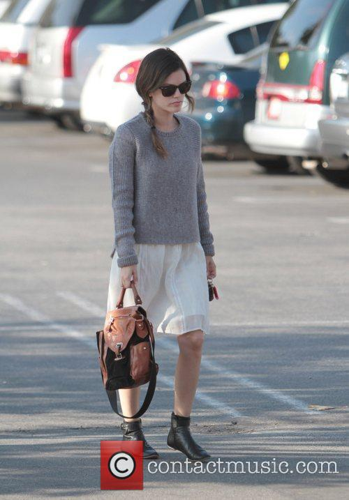 Rachel Bilson heads to Party City to shop...
