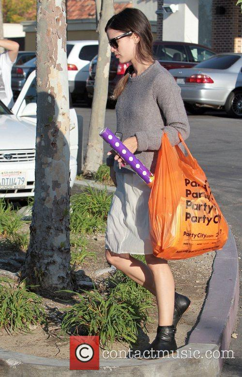 rachel bilson heads to party city to 3559485