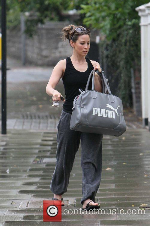 Rachel Stevens  out and about in Primrose...