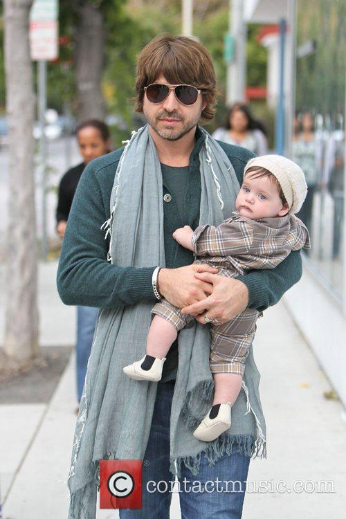 Rachel Zoe , Rodger Berman and their son...