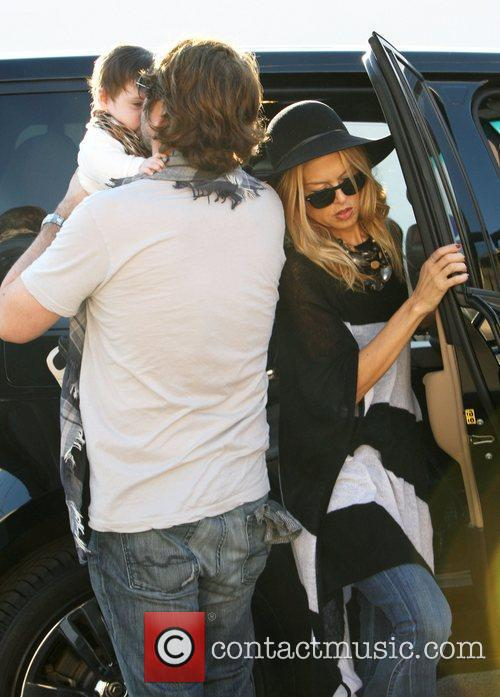 Rachel Zoe and Rodger Berman are seen out...