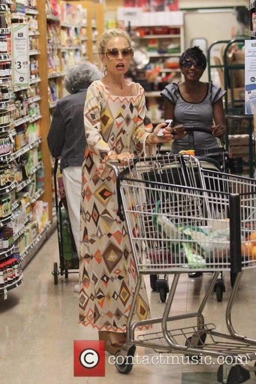Rachel Zoe goes shopping at Whole Foods Market...