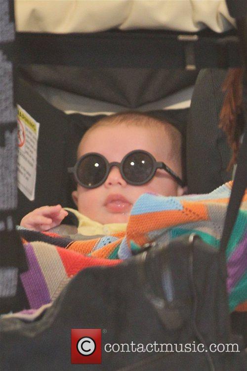 Rachel Zoe takes her son Skyler Morrison Berman...