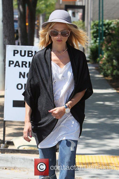 Rachel Zoe  shopping in West Hollywood. Los...