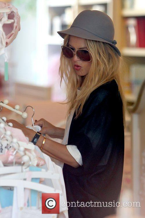 Rachel Zoe  shopping for baby clothes in...