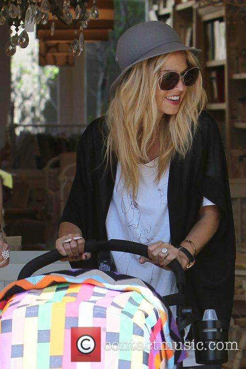 Rachel Zoe  shopping for baby clothes with...