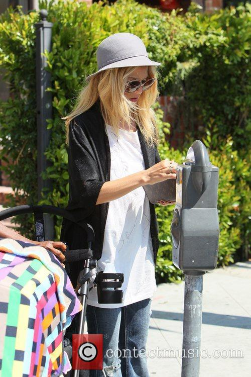 Rachel Zoe and son Skyler Morrison Berman feeds...