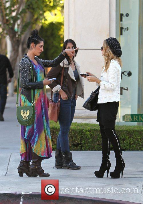 Rachel Zoe stops to ask for directions to...