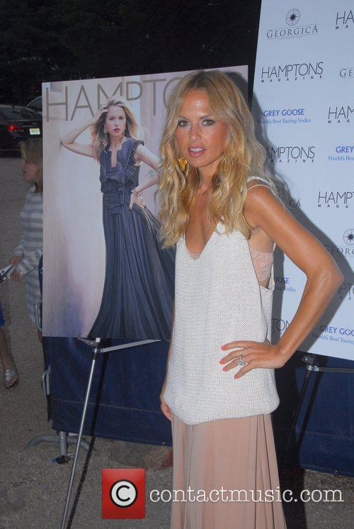 Rachel Zoe attends her Hamptons Magazine cover party...