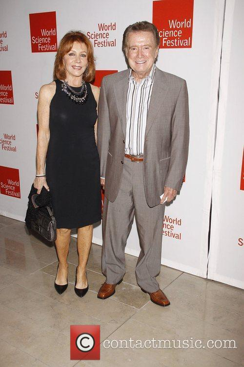 Joy Philbin and Regis Philbin  Opening night...