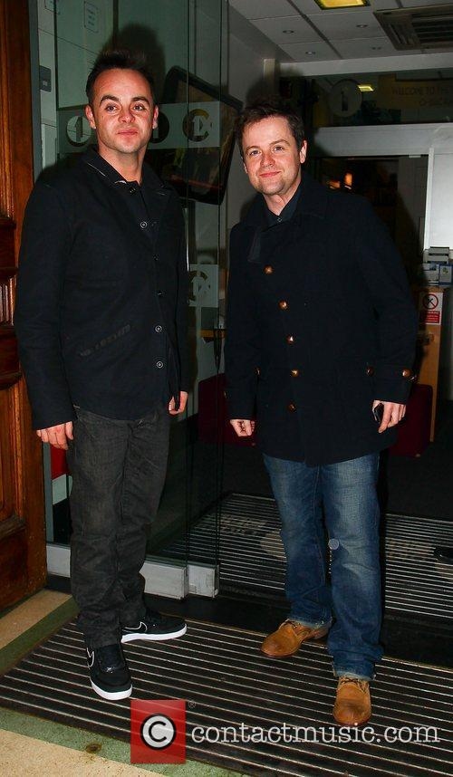 Anthony McPartlin and Declan Donnelly at the BBC...