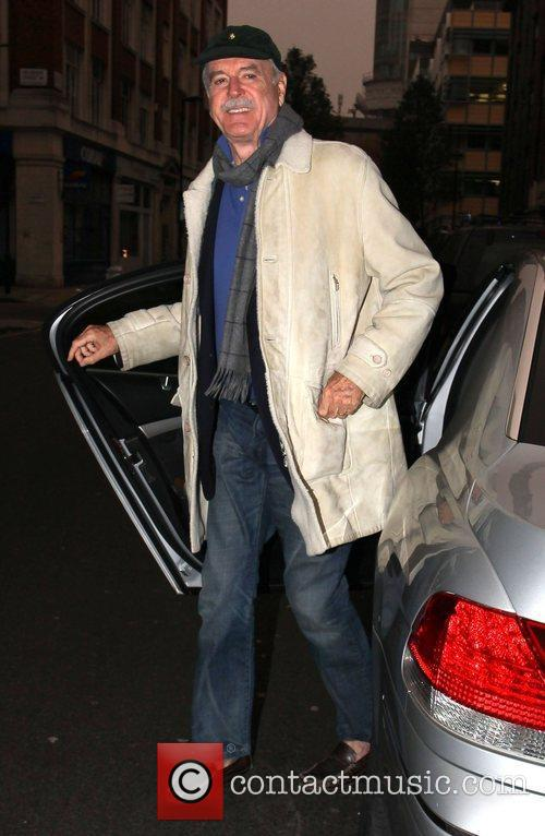 john cleese arrives at the bbc radio 3621792