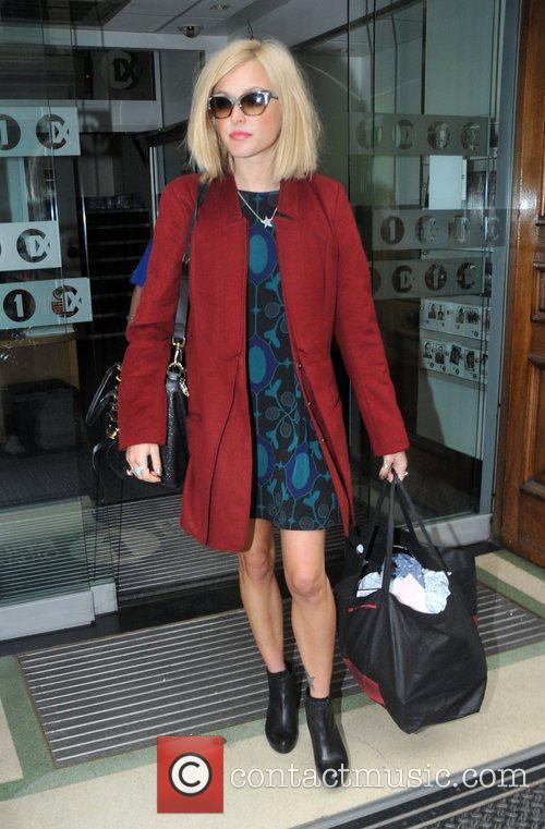 Leaving the BBC Radio 1 studios