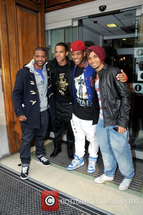 Jonathan Gill, Aston Merrygold and Jls 1