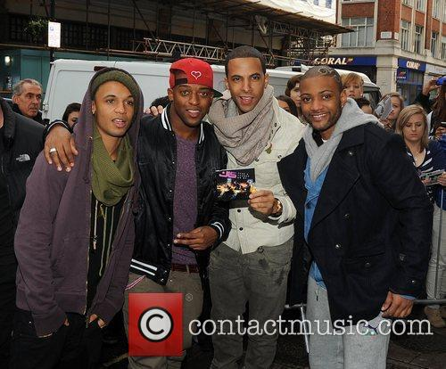 Aston Merrygold, Jls and Jonathan Gill 8