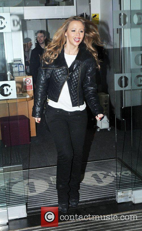 Leaving the BBC Radio One studios