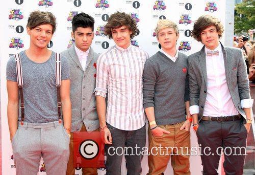 One Direction BBC Radio 1's Teen Awards 2011...