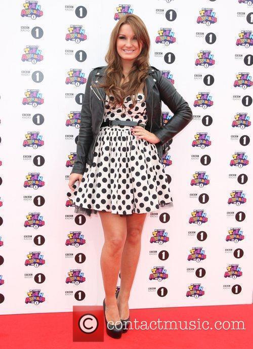 Sam Faiers BBC Radio 1 Teen Awards 2011...