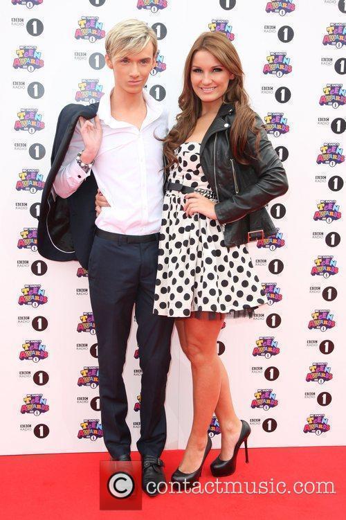 Harry Derbridge and Sam Faiers BBC Radio 1...