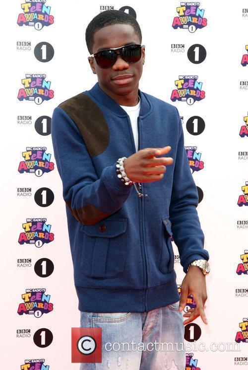Tinchy Stryder BBC Radio 1's Teen Awards 2011...