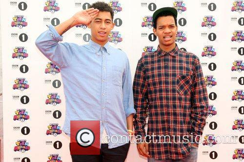 Katie Price and Rizzle Kicks 2