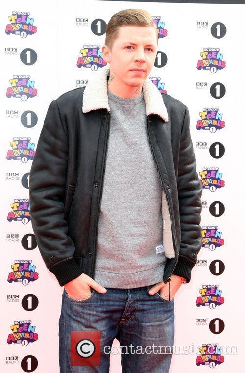 Professor Green BBC Radio 1's Teen Awards 2011...