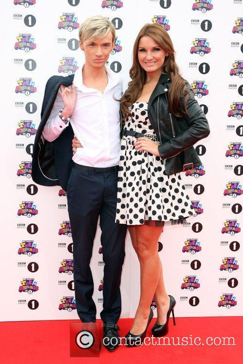 Sam Faiers and Harry Derbidge BBC Radio 1's...