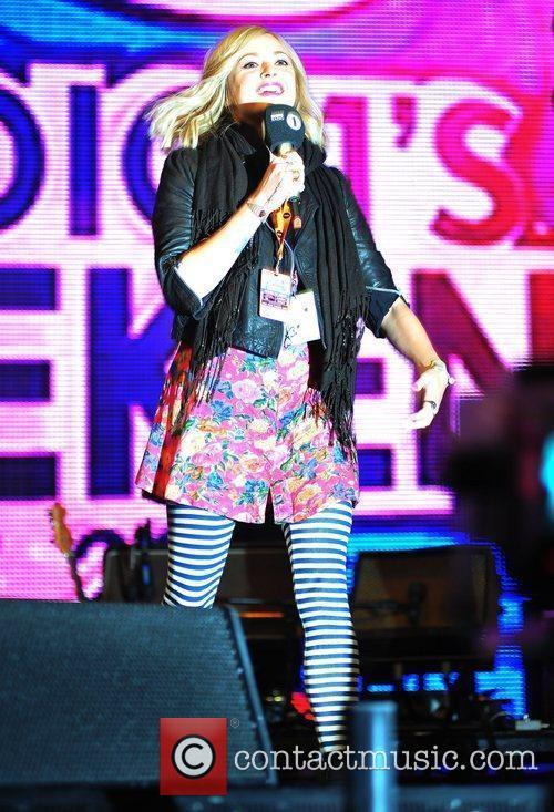 Fearne Cotton BBC Radio 1's Big Weekend 2011...