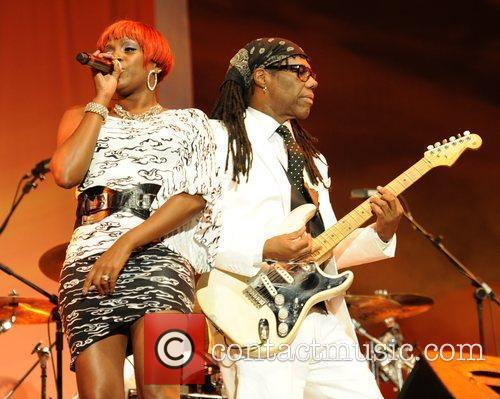Nile Rodgers and Vanessa Feltz 5