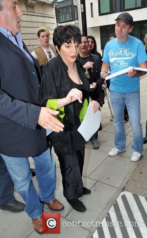 Celebrities outside BBC Radio 2 Studios