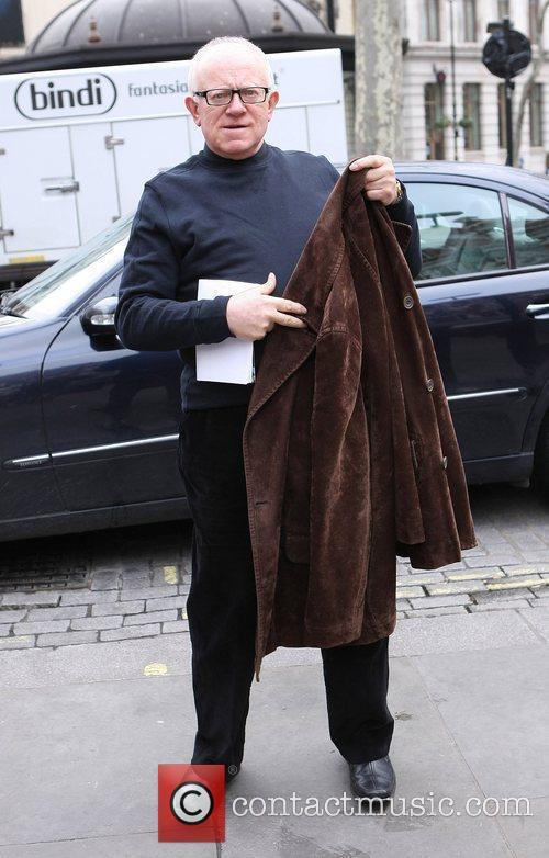 Ken Morley leaving the Heart FM studios London,...