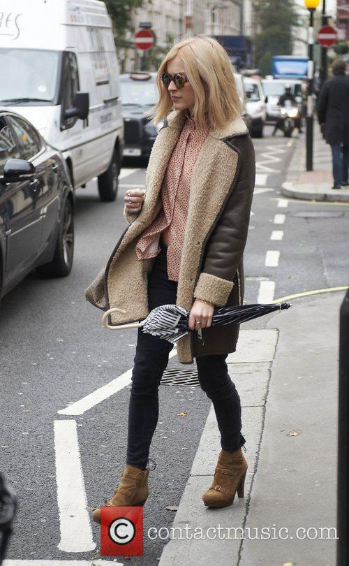 Fearne Cotton Celebrities outside the BBC Radio 1...