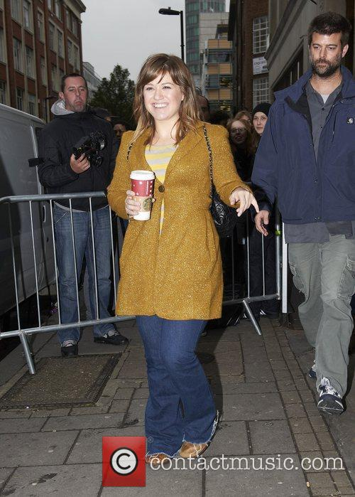Kelly Clarkson  Celebrities outside the BBC Radio...