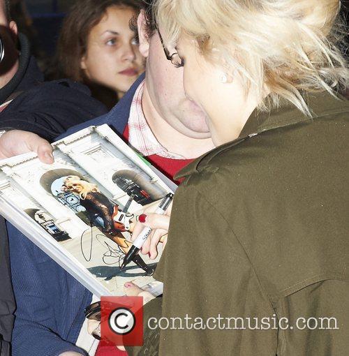 Pixie Lott Celebrities outside the BBC Radio 1...