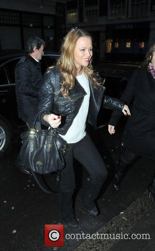 Arriving at BBC Radio One studios