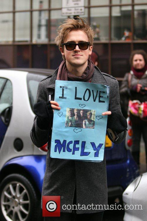 Tom Fletcher and Mcfly 3