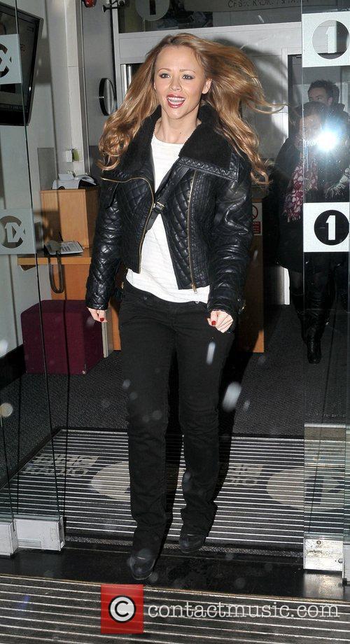 At the BBC Radio One studios