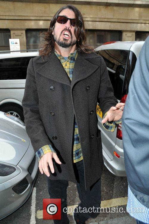 Dave Grohl of the Foo Fighters...