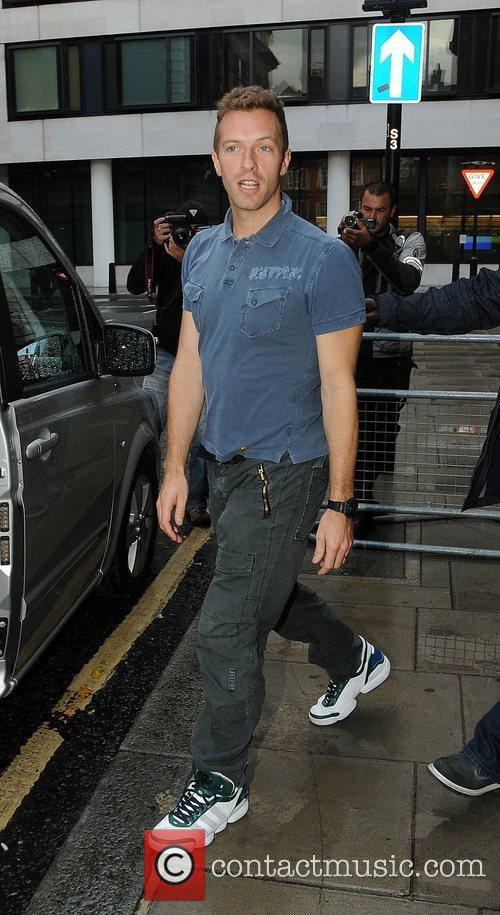 Chris Martin and Coldplay 2