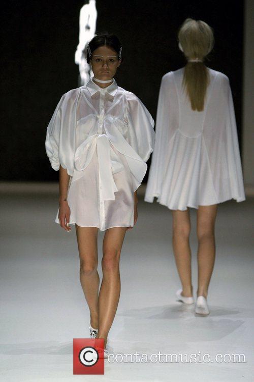 Day 1 of the Rosemount Australian Fashion Week...
