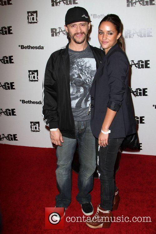 Clifton Collins Jr. and Jenny Packham 1