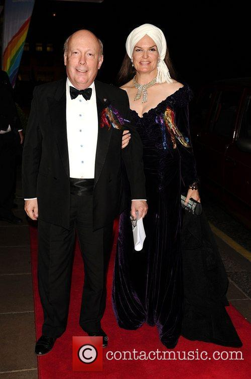 julian fellowes and wife emma kitchener fellowes 3556912