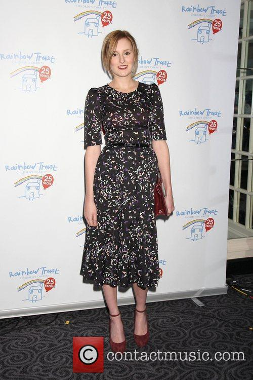laura carmichael at the rainbow trust silver 3557121