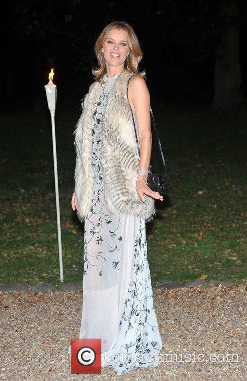 Eva Herzigova and Hampton Court Palace